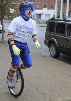 The unicycling clown phenomenon